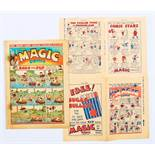 Magic Comic 2 (1939). With Magic No 1 & 2 Flyer 8 pg mini-comic. No 2 has rust marks and blemishes