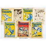 Triumph/Superman (1939) 771 with back cover Superman ad, 772 [fr], 779, 781-786, 788, 792 (issue 788