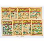 Knock-Out (1941) 102, 104-106, 108-112, 115-121, 123-125. Propaganda war issues. Starring Sexton