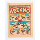 Beano No 21 (1938). First Xmas Number. First Pansy Potter, Frosty McNab and Good King Coke (he's