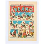 Beano 300 (1946) Xmas Comic. Lord Snooty, Shipwrecked Circus and Tom Thumb Christmas adventures by