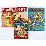 Mickey Mouse Weekly Vol 1 No 8 (1936) [vg]. With Mickey Mouse Holiday Special (1938-39) and Wild