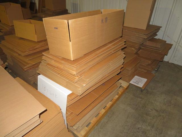 (3) SKIDS ASST K/D CORRUGATED BOXES - Image 3 of 4