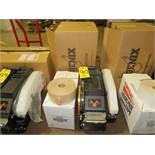 PHOENIX M1 MANUAL BOX TAPE DISPENSER W/ BOX OF REINFORCED TAPE