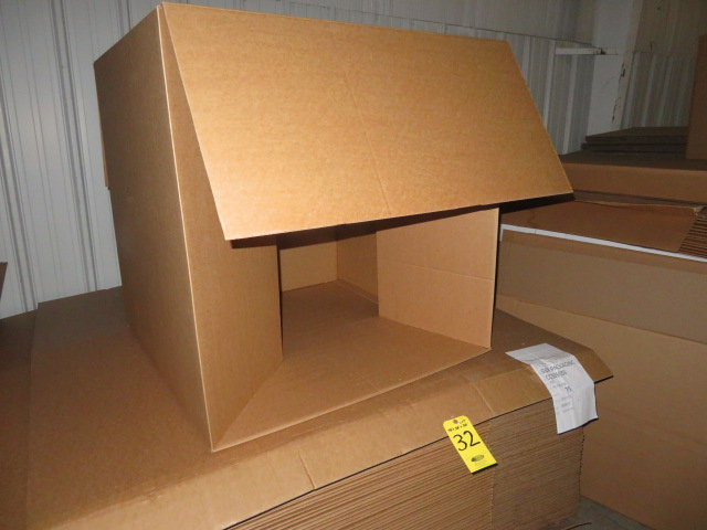 (50) 38 X 38 X 38 IN & (10) 36 X 31 X 8-1/2 IN K/D CORRUGATED BOXES - Image 3 of 3