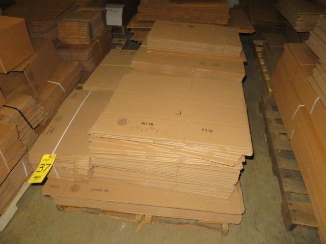 (3) SKIDS ASST K/D CORRUGATED BOXES - Image 4 of 4