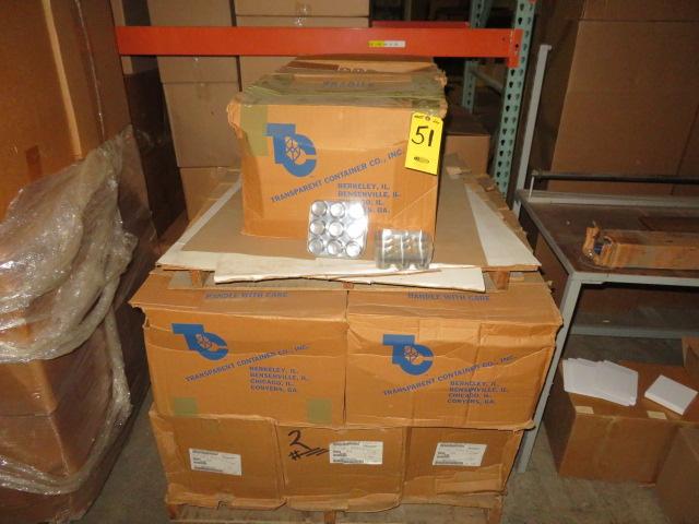 (12) BOXES 0F 9 UNIT BLISTER PACK BOTTOMS