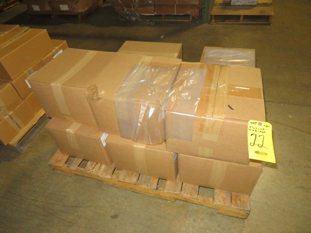 (11) BOXES 15 X 7 X 18 7 15 X 9 X 24 IN POLY UIRETHANE BAGS