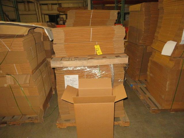 ( 425) 19 X 29-1/2 X 13 K/D CORRUGATED BOXES