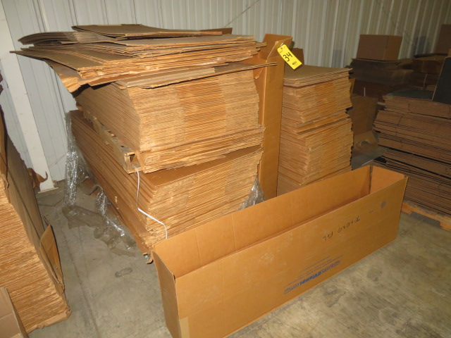 (200+) ASST LONG & HIGH NARROW K/D CORRUGATED BOXES - Image 2 of 2