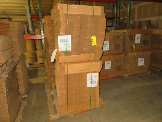 (500) 19 X 13 X 19 IN K/D CORRUGATED BOXES