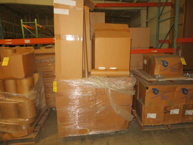 (11) BOXES 5024KHD & (1) 2048K BOXES OF FIBRE TUBES W/ LIDS