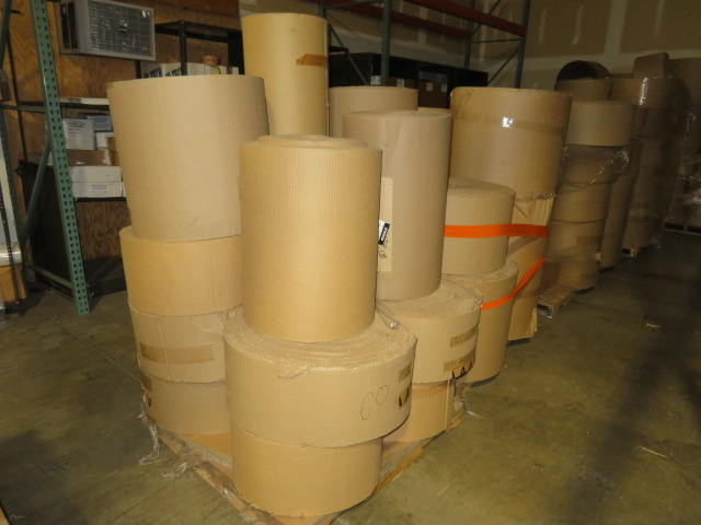 (23) ASST TO 36 IN CORRUGATED KRAFT ROLLS - Image 2 of 2