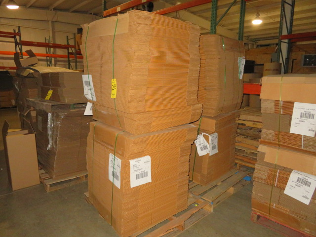 (500) 19 X 13 X 19 IN K/D CORRUGATED BOXES - Image 2 of 3