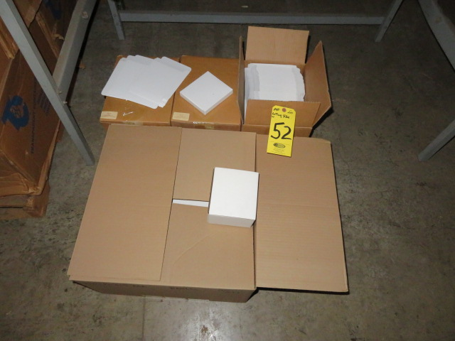 ASST DIE CUT CORRUGATED & SBS BOXES