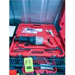 Milwaukee Sawzall Reciprocating Saw Model 6519-30 Rigging Fee: $ 10