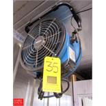 """Xpower 14"""" Axial Air Mover Model X-34AR Rigging Fee: $ 40"""