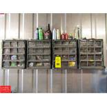 Husky 4-Drawer Small Parts Bins With Contents Rigging Fee: $ 75