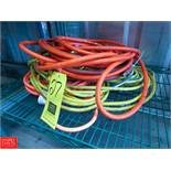 (2) Air Hoses & (2) Extension Cords Rigging Fee: $ 10