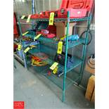 4-Tier Wire Rack Dimensions = 5' x 2' Rigging Fee: $ 25