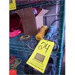 (2) Assorted Makita and DeWalt Angle Grinders with Maxidisc Sanding Discs Rigging Fee: $ 15