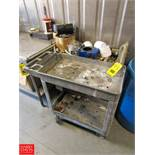 Rubbermaid Utility Carts with Contents Rigging Fee: $ 75