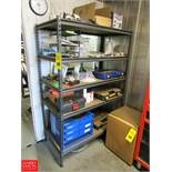 5-Tier Adjustable Shelving Unit Dimensions = 4' x 2' x 6' with Contents Rigging Fee: $ 125