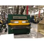 1,300MM FLADDER GYRO 300 6-CONE DEBURRING MACHINE; S/N 629 (2009), 1,300MM WORKING WIDTH, 100MM