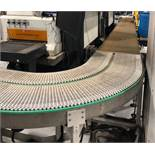 """SACOT BELT CONVEYOR, APPROX. 24"""" WIDE X 26' LONG WITH (2) BENDS **RIGGING FEE DUE TO SHOEMAKER $"""