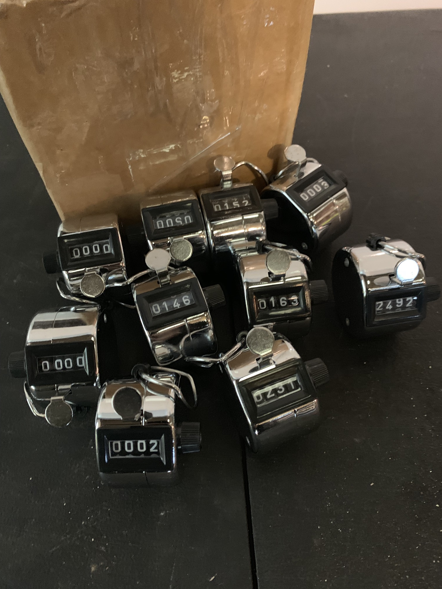Lot 56 - 10 x TALLY COUNTING CLICKERS