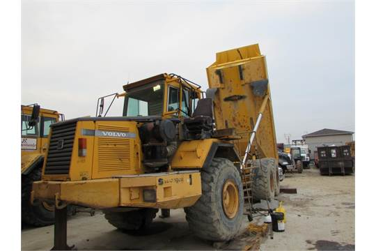 1998 volvo a35c 6x6 articulated trucks 423 with 351hp volvo rh bidspotter com volvo a35c service manual 1960 Volvo Speedometer