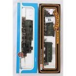 Two boxed OO gauge locomotives to include Airfix 541501 Prairie Tank Locomotive 2-6-2 (GWR Green
