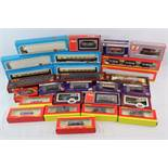 27 Boxed OO gauge model railway items of rolling stock to include Hornby x 9, Airfix x 5, Dapol x