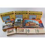 11 Boxed HO scale unmade model buildings and kits Ratio Trackside x 7 (527 x 2, 525, 502 x 2,