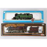 Two boxed OO gauge locomotives to include Mainline 37061 4-6-0 Jubilee Class 5XP LMS Crimson and