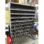 LOT: Assorted Drills in Rack (includes rack)