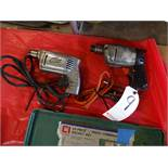 LOT: (2) Assorted Electric Drills