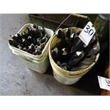 LOT: Assorted Large Drills in (2) Buckets