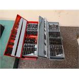 LOT: (2) Drill Indexes with Assorted Drills