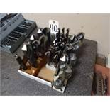 LOT: Assorted Drills in (3) Racks