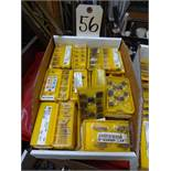 LOT: Assorted Carbide Inserts in (1) Box