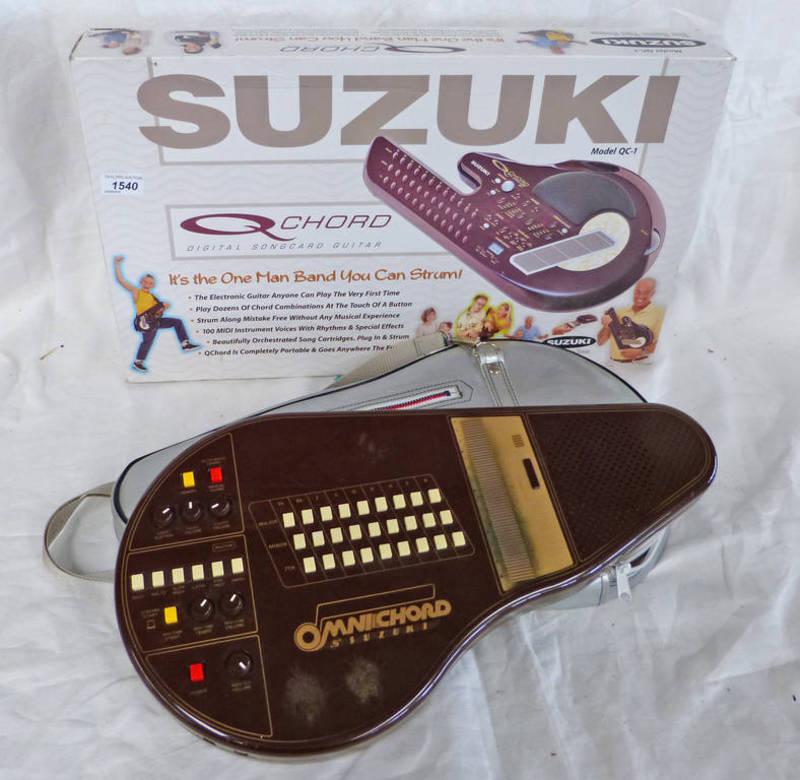 Suzuki Q Chord Digital Singcard Guitar