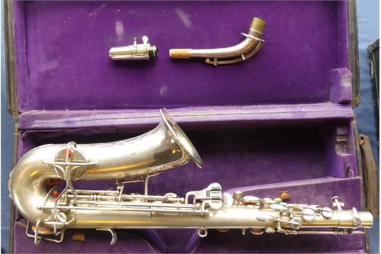 buescher alto sax serial number aristocrat