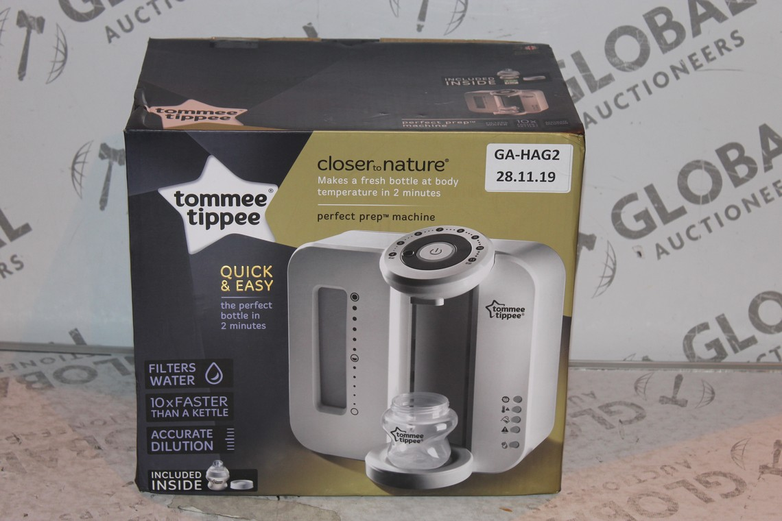 Lot 23 - Boxed Tommee Tippee Perfect Prep Machine in White RRP £85 (Public Viewing and Appraisals Available)