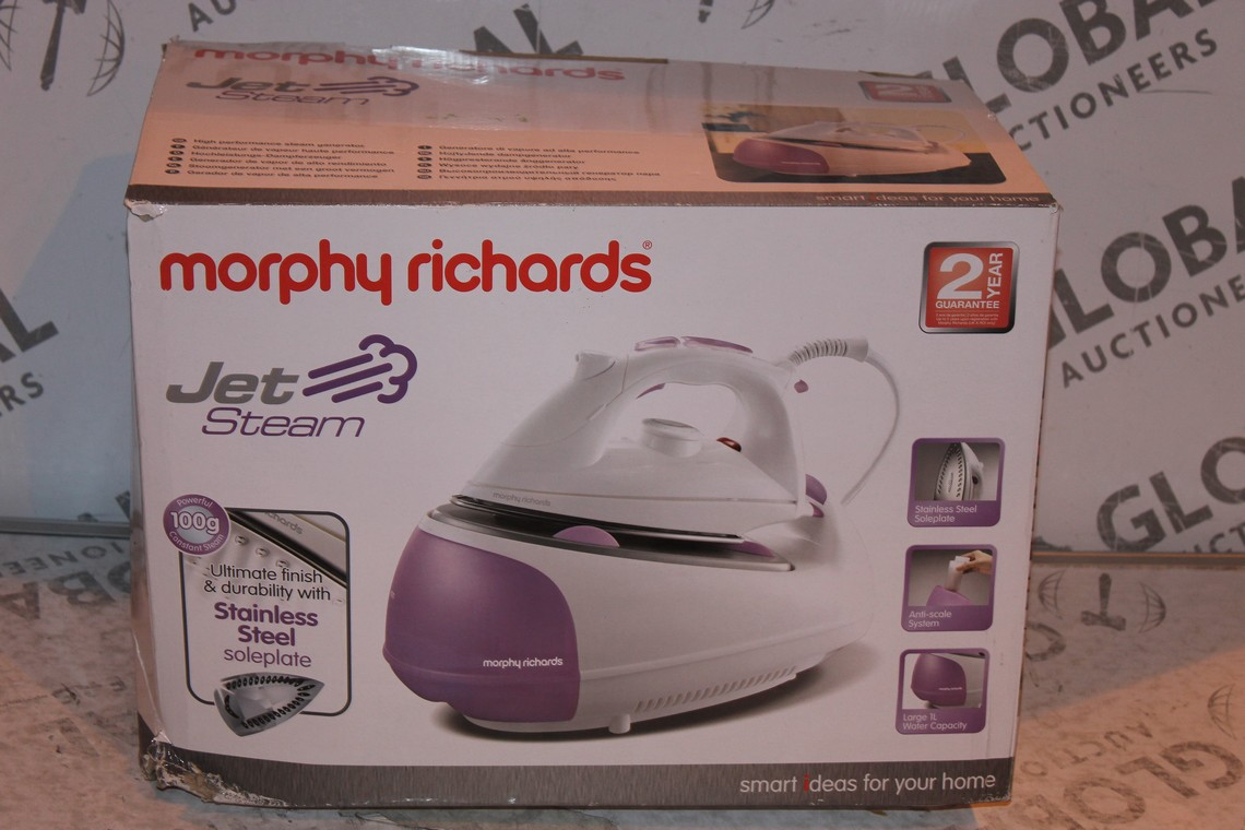 Lot 5 - Boxed Morphy Richards Jet Steam Generator Iron RRP £75 (Public Viewing and Appraisals Available)