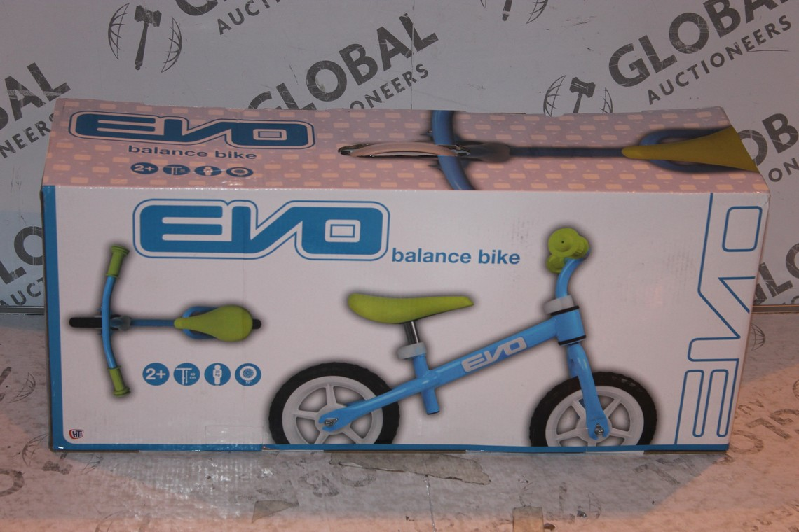 Lot 11 - Boxed Children's Evo Balance Bike RRP £45 (Public Viewing and Appraisals Available)