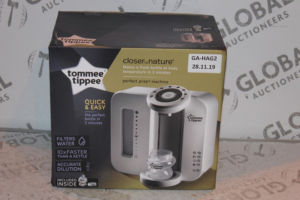 Lot 15 - Boxed Tommee Tippee Perfect Prep Machine in White RRP £85 (Public Viewing and Appraisals Available)