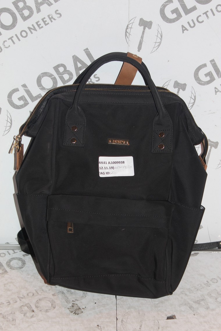 Lot 32 - Lot to Contain 4 BaBaBing Baby Changing Bags in Black Combined RRP £200 (RET00867152)(RET00235879)(