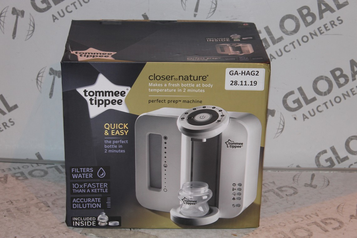 Lot 19 - Boxed Tommee Tippee Perfect Prep Machine in White RRP £85 (Public Viewing and Appraisals Available)