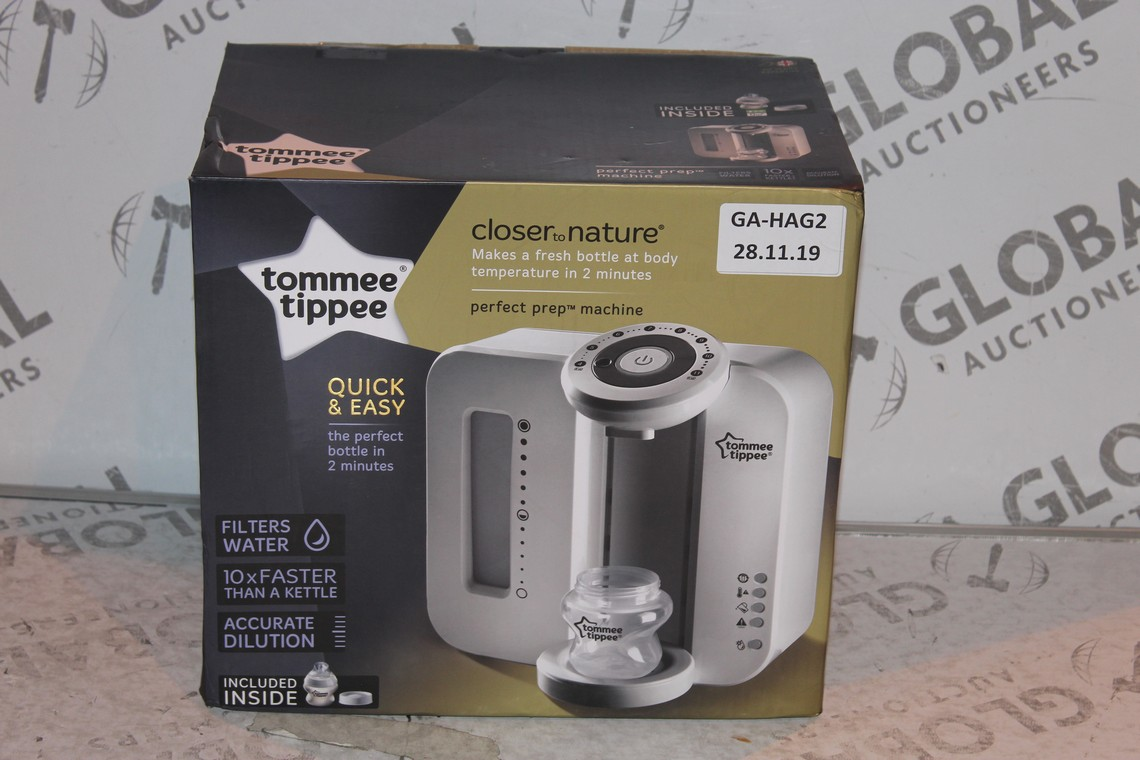 Lot 16 - Boxed Tommee Tippee Perfect Prep Machine in White RRP £85 (Public Viewing and Appraisals Available)